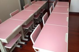 Furniture supply for expansion of the school